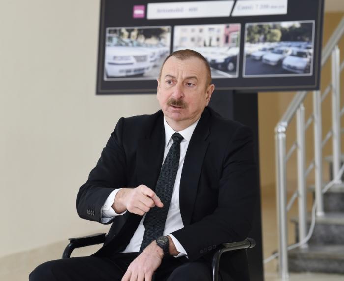 """""""Dünyada hansı müasir silah varsa, Azərbaycana gətiriləcək""""  -    İlham Əliyev"""
