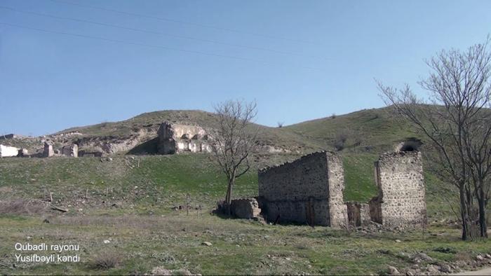 Yusifbayli-Dorf in Gubadli -   VIDEO