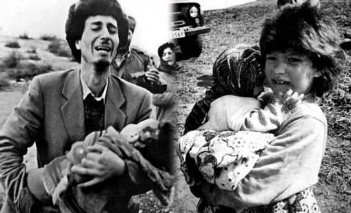 DesAzerbaïdjanais ont appelé le parlement finlandais à reconnaître le génocide de Khodjaly