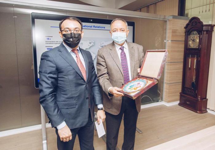 Ambassador of Afghanistan to Azerbaijan visits ASAN service - PHOTOS