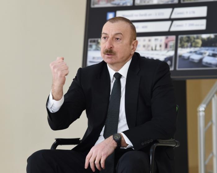 Aserbaidschanischer Präsident warnt einige Kräfte, die an revanchistischen Ansichten festhalten