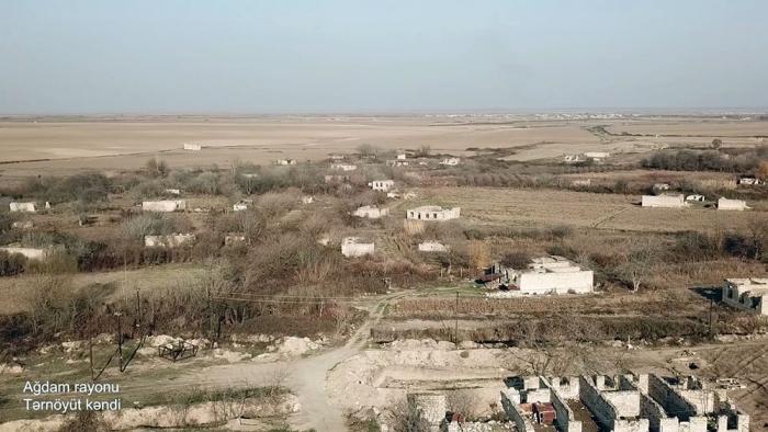 Ternoyut village of Azerbaijan's Aghdam district –   VIDEO