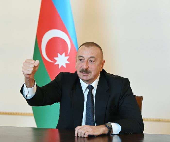 Azerbaijani people will return back to Khojaly, says President Ilham Aliyev