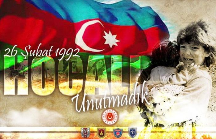 Türkisches Verteidigungsministerium twittert über den Völkermord von Chodschali
