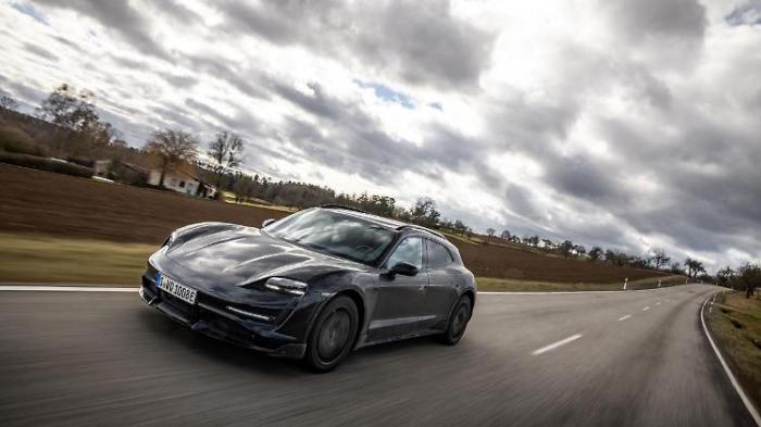 Porsche macht Taycan zum Cross Turismo