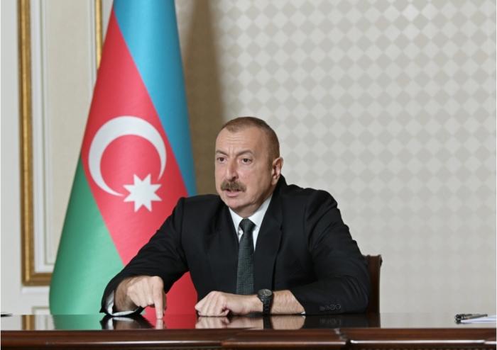 """Ilham Aliyev:  """"Logramos nuestro objetivo paso a paso"""""""