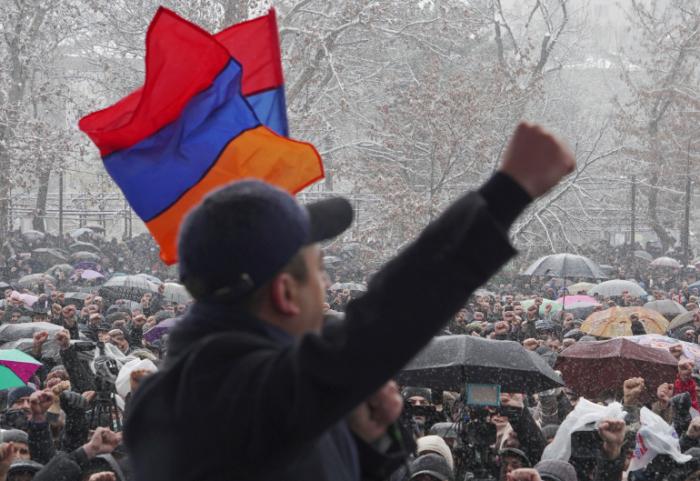 Protests rock Armenia as Pashinyan slams 'coup' attempt