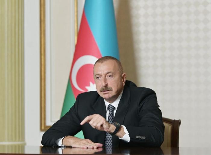 """""""Quien no trabaje de forma transparente deberá responder por esto"""" -   Ilham Aliyev"""