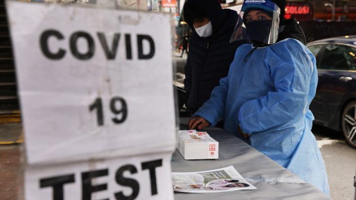 Identifican una nueva variante de coronavirus en Nueva York
