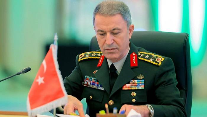 """""""Continuaremos apoyando a Azerbaiyán lo mejor que podamos"""" -   Hulusi Akar"""
