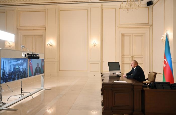 Ilham Aliyev:  «Nous avons remis tous les prisonniers de guerre»
