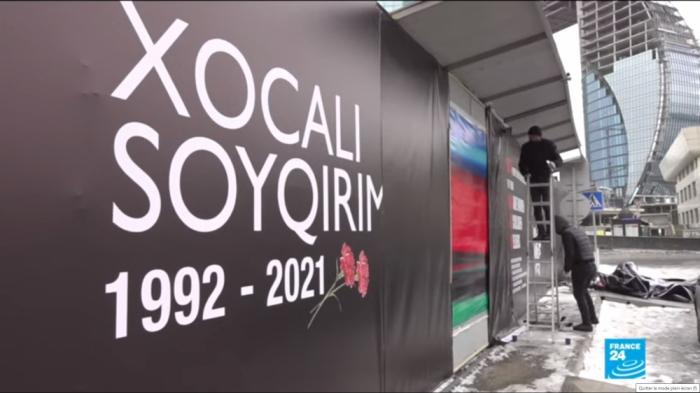 Génocide de Khodjaly:  France 24 prépare un reportage de Bakou - Vidéo
