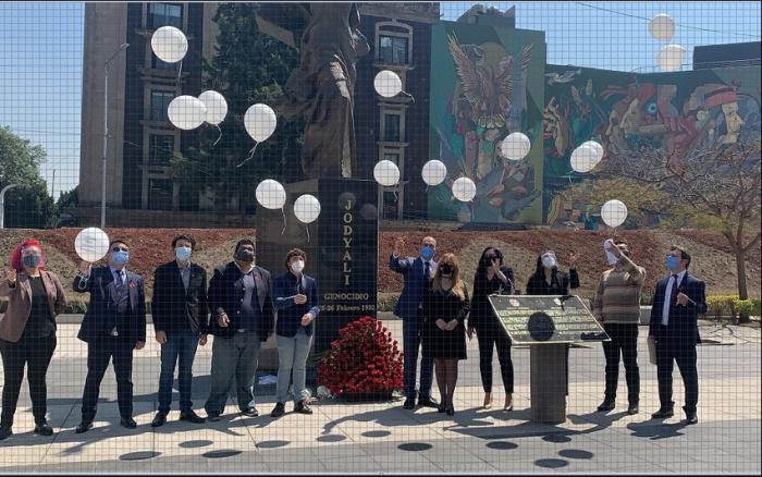 EnMéxico se conmemora a las víctimas del genocidio de Joyalí