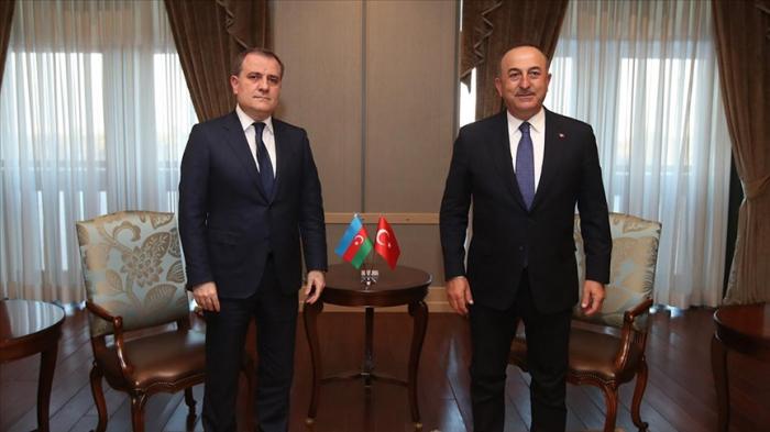 Azerbaijani FM talks to Mevlut Cavusgolu in phone call