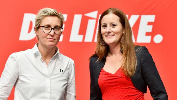 Janine Wissler und Susanne Hennig-Wellsow sind neue Vorsitzende der Linken
