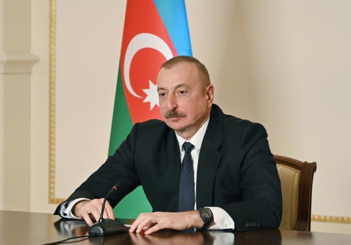 """Ilham Aliyev:   """"No debemos usar el término Nagorno Karabaj""""   - VIDEO"""