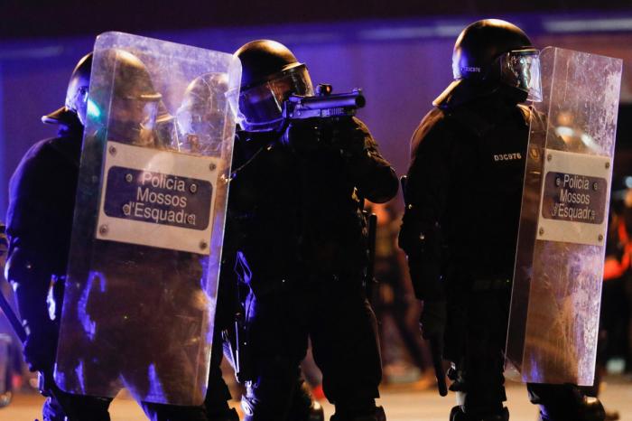 Ten arrested in Barcelona protests over jailed rapper