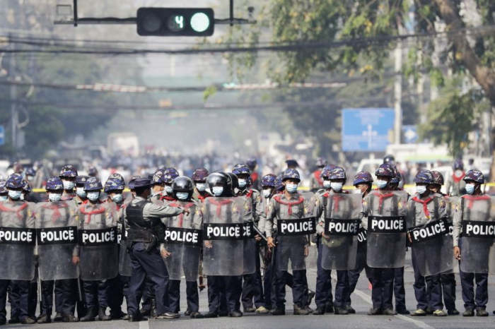 At least 18 killed in Myanmar protests against coup - UPDATED