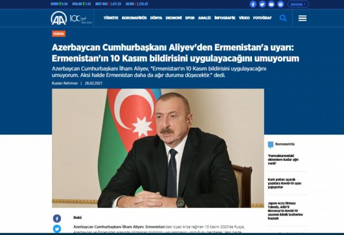 La conférence de presse du président azerbaïdjanais largement couverte par des médias étrangers - PHOTOS