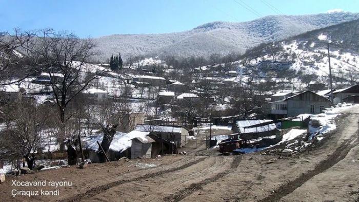 Village de Tchiraguz de la région de Khodjavend -   VIDEO
