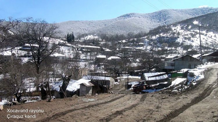 Chiraguz village of Azerbaijan's Khojavend district – VIDEO