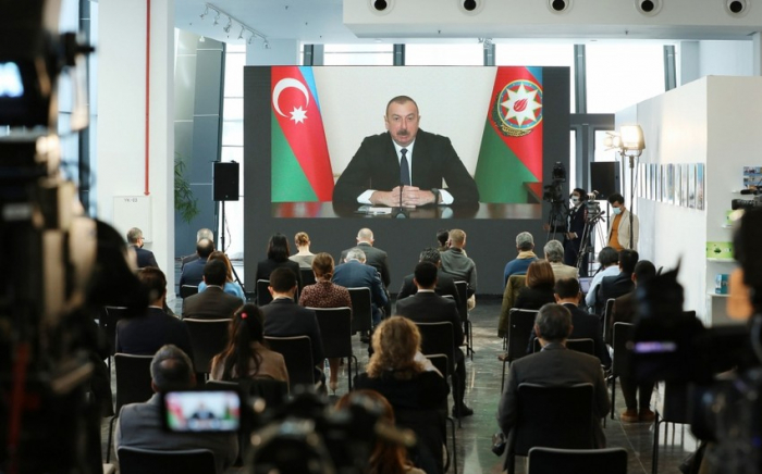 Spanish newspaper publishes article on Azerbaijani president's press conference