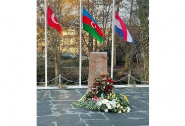 Se inauguró en La Haya un nuevo monumento erigido en memoria de las víctimas del genocidio de Joyalí