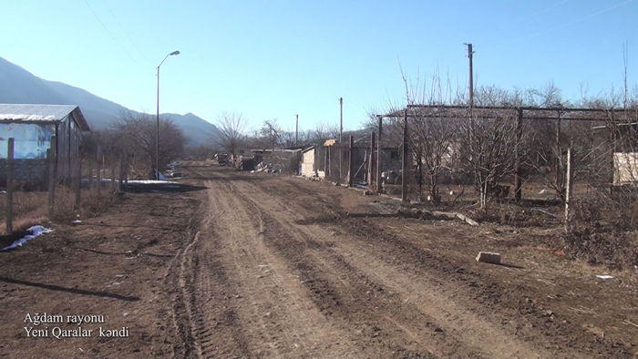 Ağdamın Yeni Qaralar kəndinin görüntüləri -    VİDEO