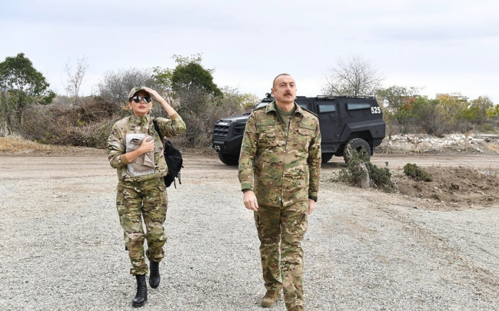 President Aliyev and First Lady in Lachin district -  VIDEO