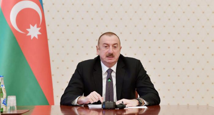 """الهام علييف:   """"لا يمكن للأجانب دخول كاراباخ إلا بموافقتنا"""""""