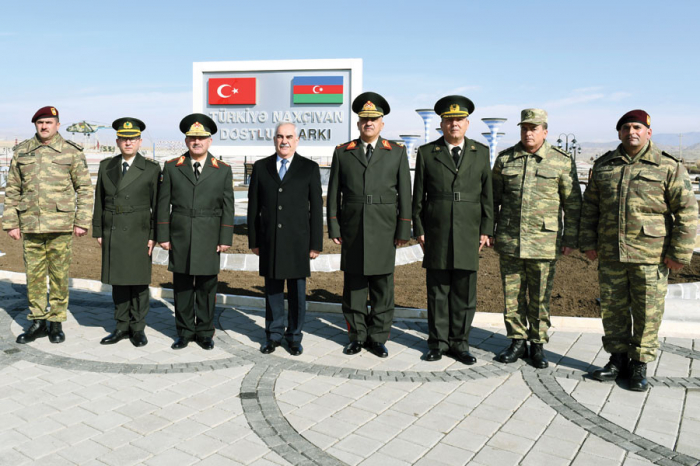 Turkey-Nakhchivan Friendship Park put into operation -   PHOTOS