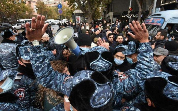 Ermənistanda yenə aksiya keçirilir