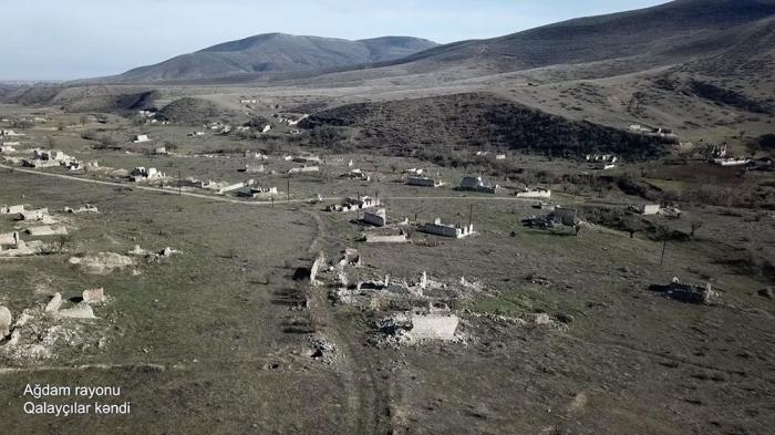 Ağdamın Qalayçılar kəndi -    VİDEO