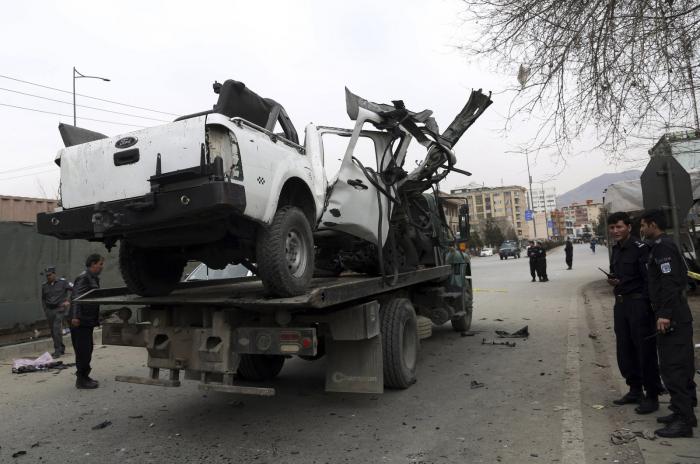 3 separate blasts in Afghanistan
