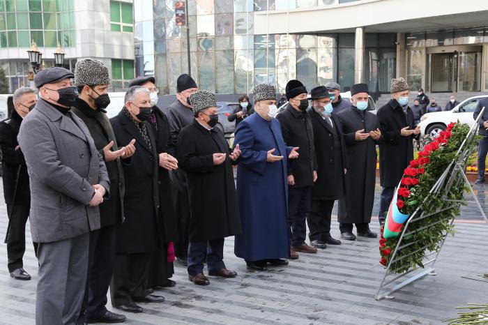 Allahshukur Pashazade visits