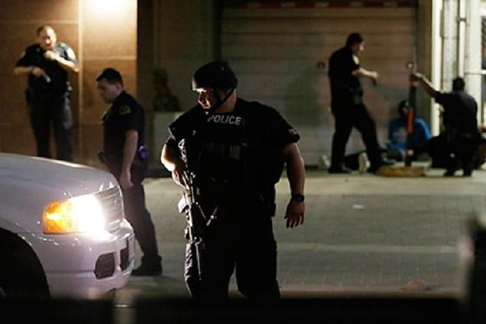 ABŞ-da partlayış: 3 polis yaralandı