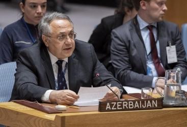 Azerbaiyán envió una carta al Secretrio General de ONU en relación con el 29º aniversario del genocidio de Joyalí