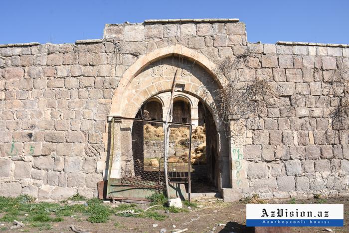 28 il işğalda qalan Şah Abbas karvansarası -  FOTOREPORTAJ