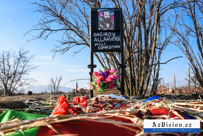 Alley of Martyrs visited after 27 years -  PHOTOS