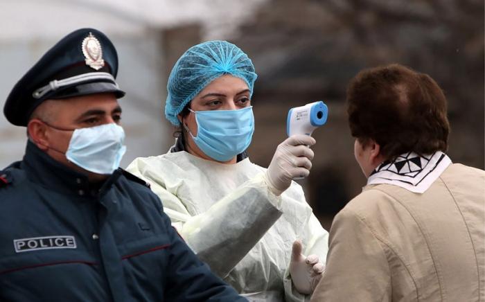 Ermənistanda daha 223 nəfərdə virusa tapıldı