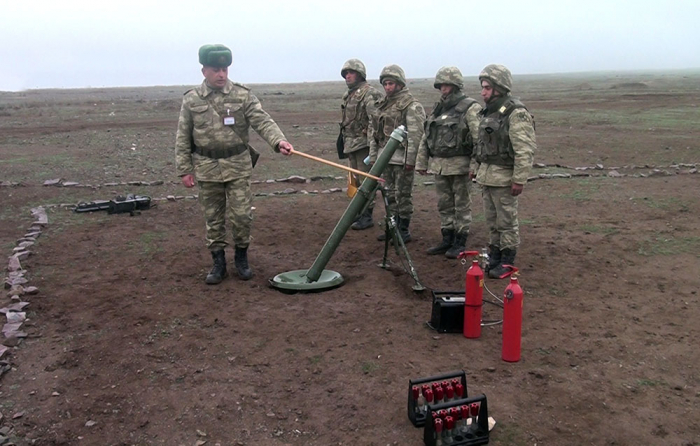 Live-fire training exercises of mortar batteries continue -  VIDEO