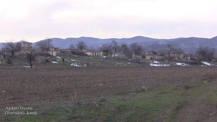 La aldea de Alimadatli de Agdam -   VIDEO