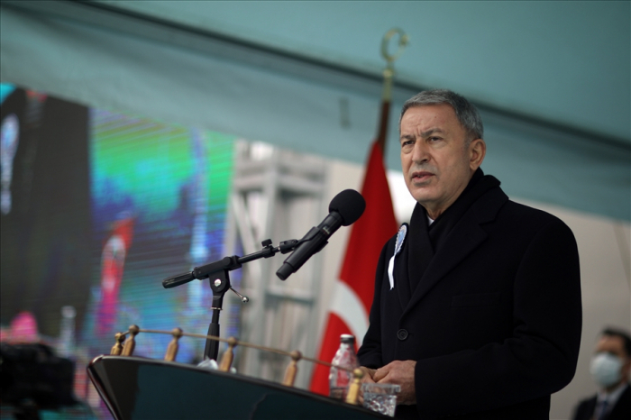 """""""The effectiveness of our weapons was clearly seen in the Karabakh war"""" - Hulusi Akar"""