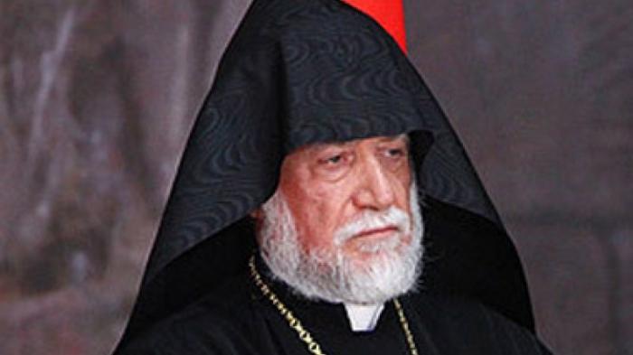 """""""Ermənistan uçurumun kənarındadır"""" -  Erməni katolikos"""