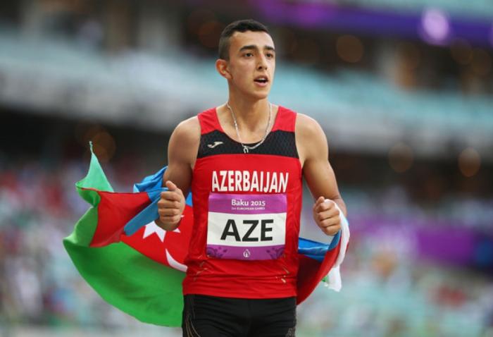 Nazim Babayev ganó la medalla de oro en los campeonatos de atletismo de los Balcanes