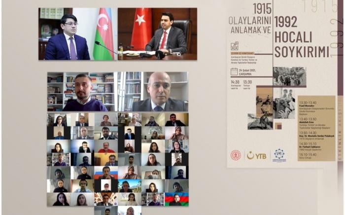Diaspora rəhbərləri tarixi faktları müzakirə ediblər