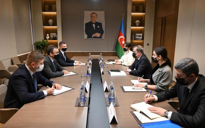 Azerbaijani FM meets Ukrainian deputy FM