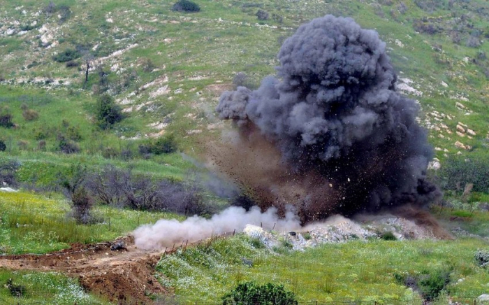 Four servicemen of Azerbaijani Army injured in mine explosion