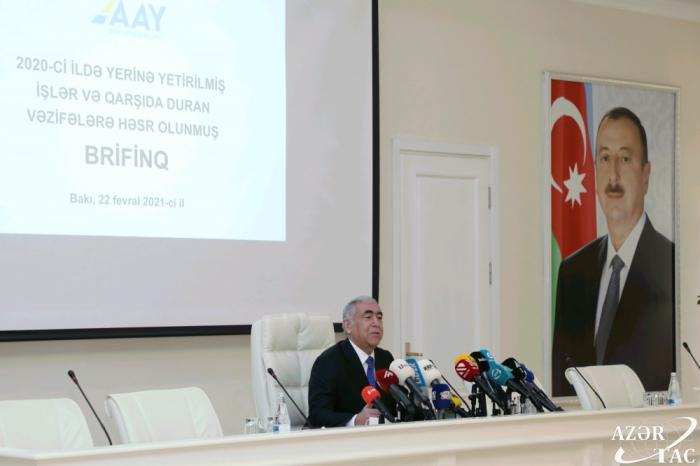Azerbaiyán revela el número de puentes construidos en 2020