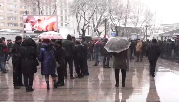 Ermənistanda müxalifətin mitinqi başa çatdı -  YENİLƏNİB